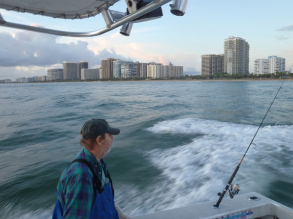 Heading out of Haulover in North Miami
